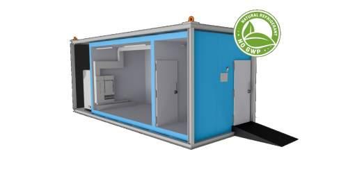 Vorschau eines Transportcontainers für Kaltluftkaeltetechnik